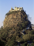 Mount Popa, Centre of Nat Worship, Myanmar (Burma) Photographic Print by  Upperhall