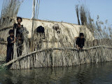 Marsh Arabs Near Qurna, Iraq, Middle East Photographic Print