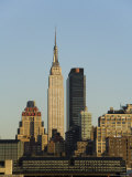 Empire State Building, Mid Town Manhattan, New York City, New York, USA Photographic Print by  R H Productions