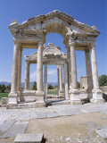 Ruins of the Temple of Aphrodite, Archaeological Site, Aphrodisias, Anatolia, Turkey Photographic Print by R H Productions 