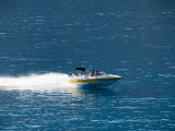 Speed Boat, Assos, Kefalonia (Cephalonia), Ionian Islands, Greece Photographic Print by  R H Productions