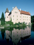 Cervena Lhota Chateau, Near Jindrichuv Hradec, Bohemia, Czech Republic Photographic Print by  Upperhall
