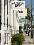Galleries on Duval Street, Key West, Florida, USA Photographic Print by  R H Productions
