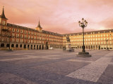 Plaza Mayor from the East, Madrid, Spain Photographic Print by  Upperhall