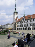 Old Town Hall, Main Square, Olomouc, North Moravia, Czech Republic Photographic Print by  Upperhall