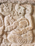 Detail, Structure 9N-82, Copan, Unesco World Heritage Site, Honduras, Central America Photographic Print by Upperhall 