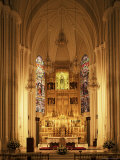 Interior of the Purissima Concepcion Church, Madrid, Spain Photographic Print by  Upperhall