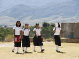 School Children, Cuilapan, Oaxaca, Mexico, North America Photographic Print by  R H Productions