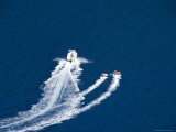 Speed Boat, Antisamos Bay, Kefalonia (Cephalonia), Ionian Islands, Greece Photographic Print by  R H Productions