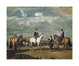 Why Weren't You Out Yesterday Premium Giclee Print by Sir Alfred Munnings