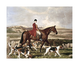 Sir Thomas Robins Bolitho On Barum Premium Giclee Print by Sir Alfred Munnings