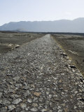 Cobblestone Road in the Volcanic Caldera, Fogo (Fire), Cape Verde Islands, Africa Photographic Print by  R H Productions