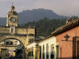 Arch of Santa Catalina, Dating from 1609, Antigua, Unesco World Heritage Site, Guatemala Photographic Print by Upperhall
