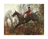 The Huntsman Premium Giclee Print by Sir Alfred Munnings