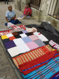 Weaving on Street, Oaxaca City, Oaxaca, Mexico, North America Photographic Print by  R H Productions