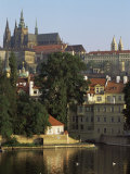 St. Vitus Cathedral and Castle, Prague, Czech Republic Photographic Print by  Upperhall