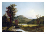 Autumn Landscape Giclee Print by Thomas Birch