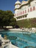 Shiv Niwas Palace, a Former Royal Guest House and Now a Heritage Hotel, Udaipur, India Photographic Print by  R H Productions