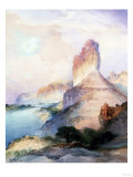 Castle Butte, Green River Wyoming, 1900 Posters by Soren Emil Carlsen