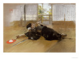 Repose Impression giclée par Thomas Jones Barker