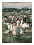 Strolling in the Park Giclee Print by Robert Blum