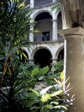 One of Many Lovely Garden Courtyards in Old Havana, Havana, Cuba, West Indies, Central America Photographic Print by  R H Productions