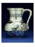 A Mixed Metal Pitcher by Tiffany &amp; Co, New York Circa 1877 Giclee Print by Georges Causard