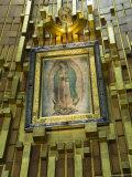 Basilica De Guadalupe, a Famous Pilgramage Center, Mexico City, Mexico, North America Reprodukcja zdjęcia autor R H Productions