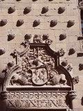 Detail, Casa De Las Conchas (House of Shells), Salamanca, Castilla-Leon (Castile), Spain Fotoprint van  R H Productions