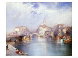 Venetian Canal, 1896 Prints by Thomas Moran