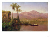 River Scene, Ecuador Prints by Thomas Birch