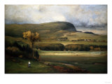 New England Valley, 1878 Giclee Print by John James Audubon