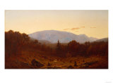 Twilight on Hunter Mountain, 1867 Giclee Print by Henry Alexander