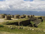 The Ancient Zapotec City of Monte Alban, Unesco World Heritage Site, Near Oaxaca City, Mexico Photographic Print by  R H Productions