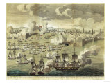 The Attack Made on Tripoli on the 3rd of August 1804, by the Commodore Edward Preble, 1805 Giclee Print by John Bachman