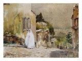 Spring Morning-Rue Mt. Cenis, Montmartre, 1884 Poster by Soren Emil Carlsen