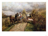 The Latest Village Scandal, 1885 Giclee Print by Robert Blum