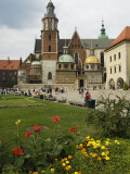 Wawel Cathedral, Royal Castle Area, Krakow (Cracow), Unesco World Heritage Site, Poland Photographic Print by  R H Productions