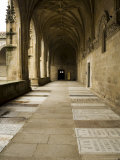 Graves in the Cloisters of Santiago Cathedral, Santiago De Compostela, Galicia, Spain Photographic Print by R H Productions