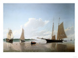 Stowing Sails, 1858 Giclee Print by Arnold Boonen