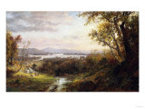 View of the Hudson, 1883 Giclee Print by Frederic Edwin Church