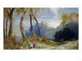 In the Hills Giclee Print by Robert Blum