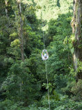 600 Metre Zip Line at the Top of the Sky Tram at Arenal Volcano, Costa Rica, Central America Photographic Print by R H Productions