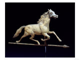 Galloping Horse Weathervane, Circa 1890 Prints by John Bachman