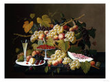 Still Life with Fruit and Champagne Prints by David Gilmour Blythe