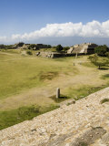 Looking Southwest Across the Ancient Zapotec City of Monte Alban, Near Oaxaca City, Mexico Photographic Print by  R H Productions