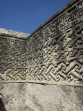 Fantastic Geometric Carving, Palace of the Columns, Mitla, Ancient Mixtec Site, Oaxaca, Mexico Photographic Print by R H Productions