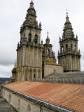 Back of the Bell Towers from Roof of Santiago Cathedral, Santiago De Compostela, Spain Photographic Print by  R H Productions