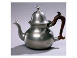 Fine and Rare Teapot, Peter Young, New York, 1775-1785, or Albany, 1785-1795 Prints by Eugene Atget
