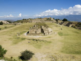 Looking North Across the Ancient Zapotec City of Monte Alban, Near Oaxaca City, Mexico Photographic Print by  R H Productions